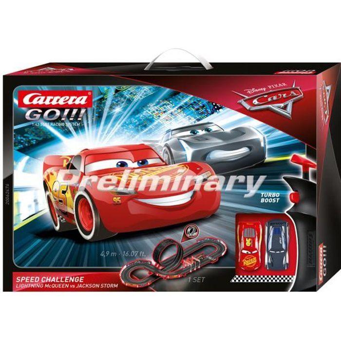 Carrera GO!!! 62476 Coffret Disney·Pixar Cars - Speed Challenge