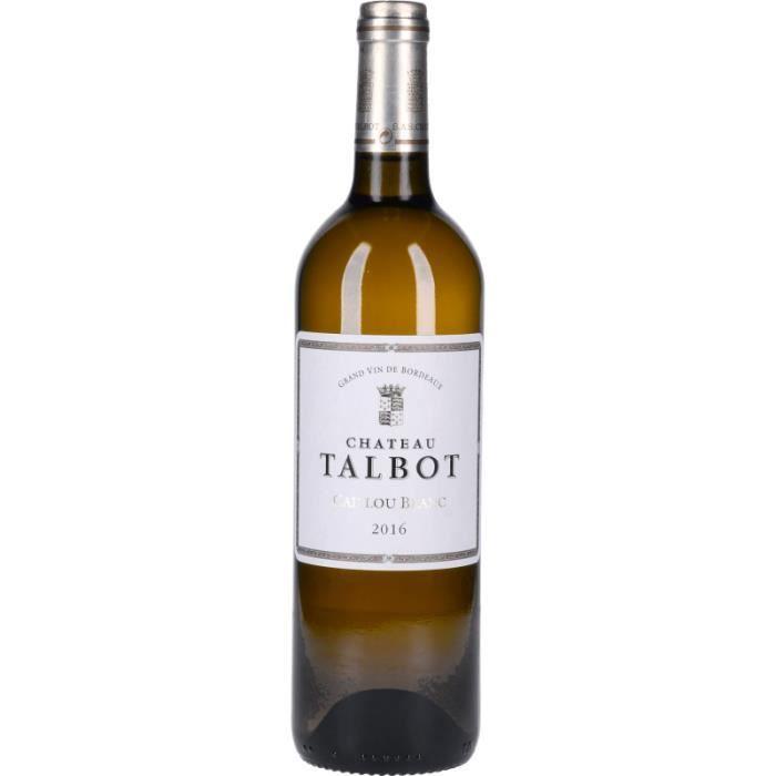 Vin Blanc - Caillou Blanc du Château Talbot 2016 - Bouteille 75cl