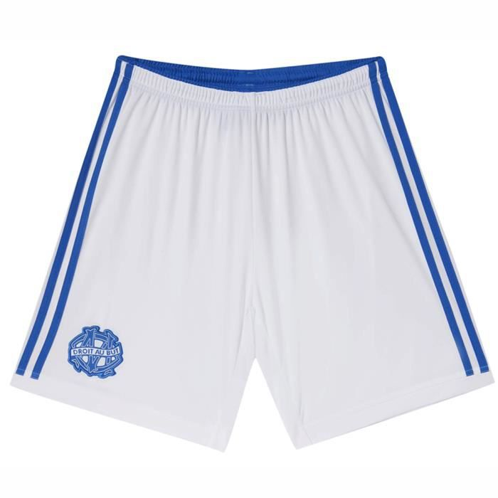 Short de MARSEILLE Enfant Domicile OM 2014-2015 DESTOCKAGE Football Olympique