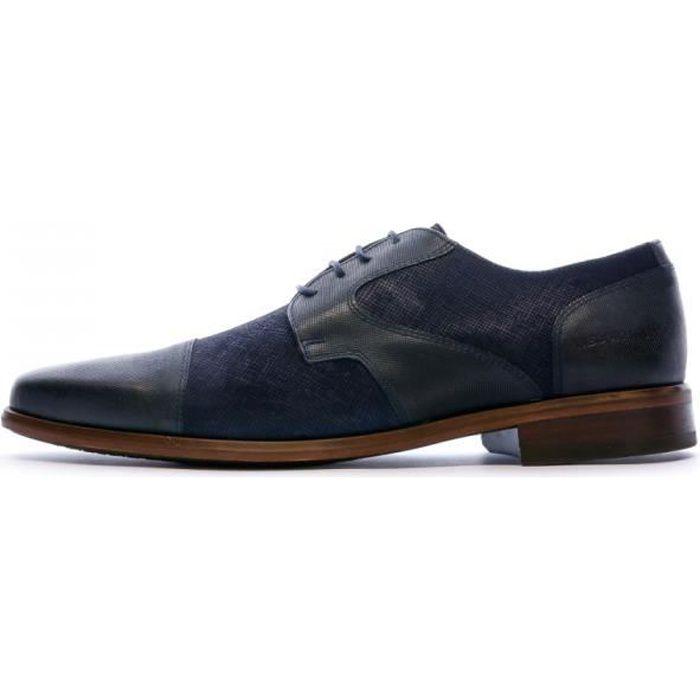 Chaussures de Ville Bleu Homme Redskins Wiss