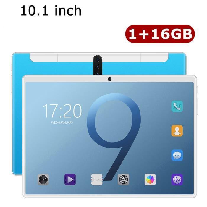18T Tablette PC 10.1- HD écran - 1+16G - Tablette Tactile Android - bleu léger