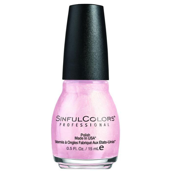 SINFUL Vernis à ongles n° 376 Glass Pink - 15 ml