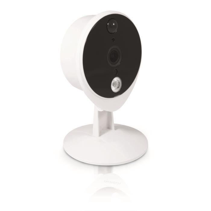 Caméra IP WiFi 1080p Couleur - HD - Usage intérieur 74 x 123 x 74mm