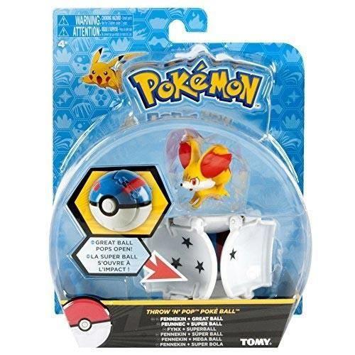 Fennekin POKE Throw N POP Pokemon