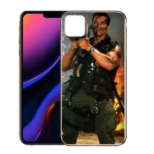 coque silicone iphone 11 pro arlond schwarzenegge