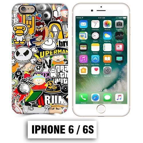 coque iphone 6 6s south park superman comics