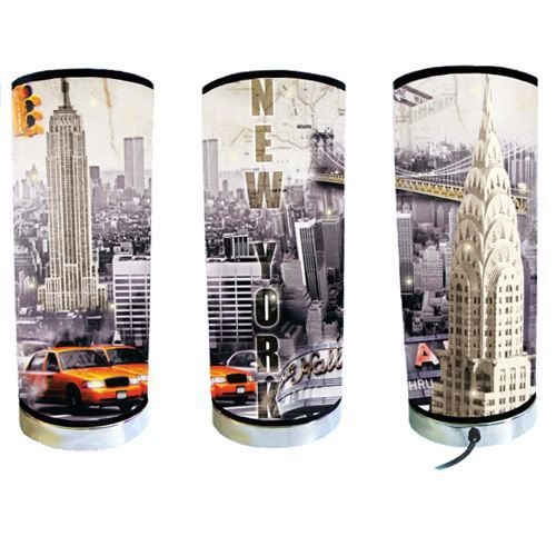 grande lampe new york achat vente lampe m tal cdiscount. Black Bedroom Furniture Sets. Home Design Ideas