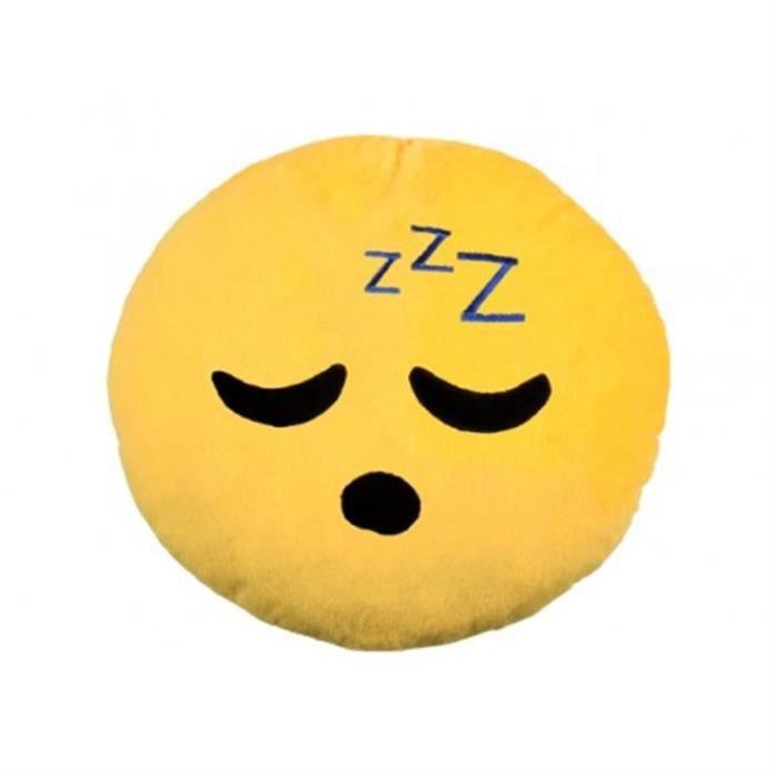 COUSSIN Coussin emoji emoticon sourire endormi langue 28 c