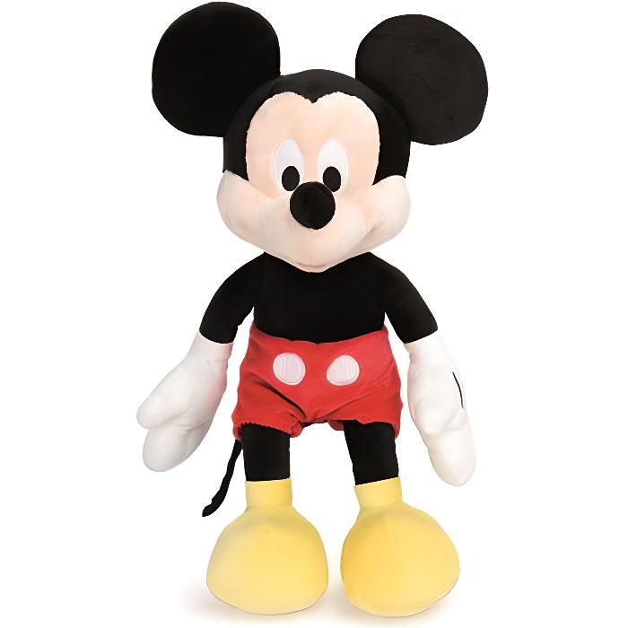 peluche mickey disney achat vente jeux et jouets pas chers. Black Bedroom Furniture Sets. Home Design Ideas