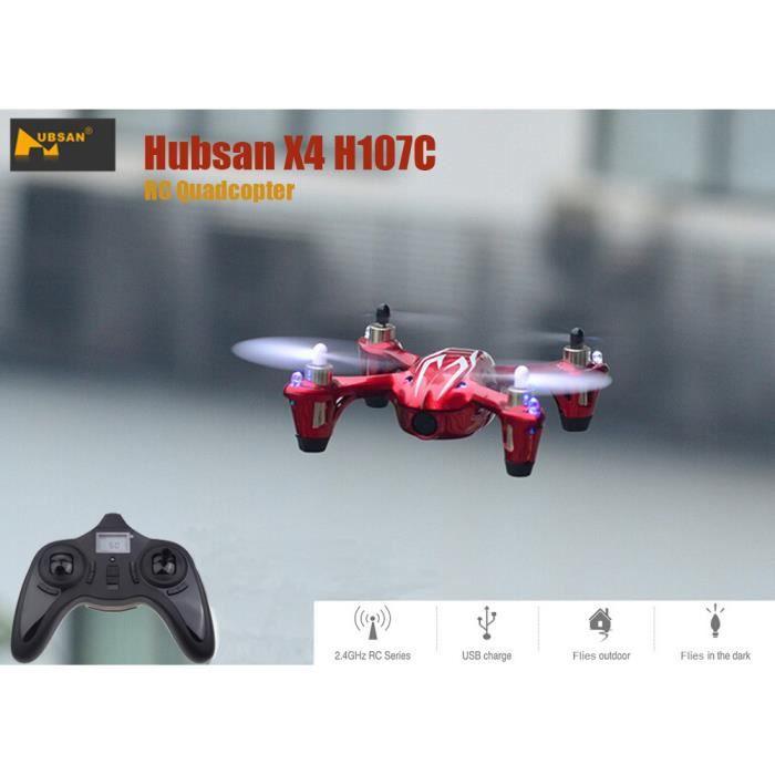 Photo de drone-hubsan-x4-h107c