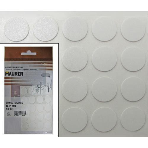 VIS - CACHE-VIS Cache-vis adhésifs blancs (blister 20 unité