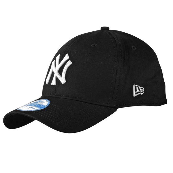 new era 39thirty flexfit casquette ny yankees no noir noir achat vente casquette cdiscount. Black Bedroom Furniture Sets. Home Design Ideas