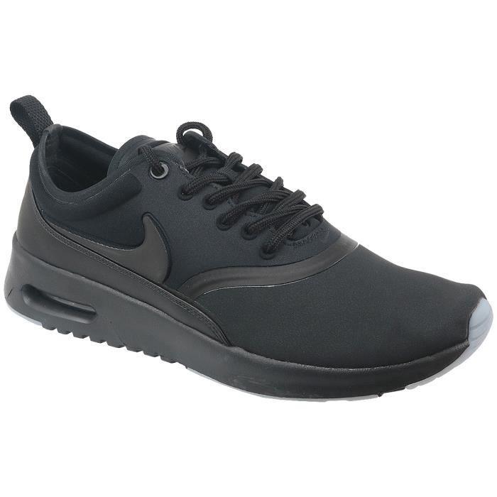 Nike Air Max Wmns Thea Premium 848279 005 Femme Baskets Noir