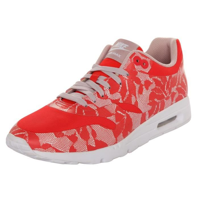 BASKET Nike Femmes Sneakers WMNS Air Max 1 Ultra SP Rouge