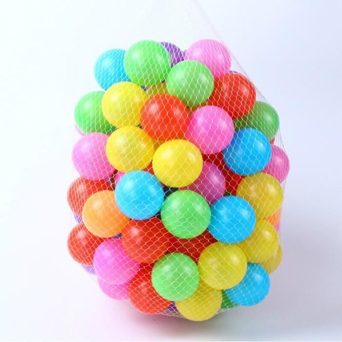50pcs eco friendly colorful plastique souple water pool for Piscine a boule bebe