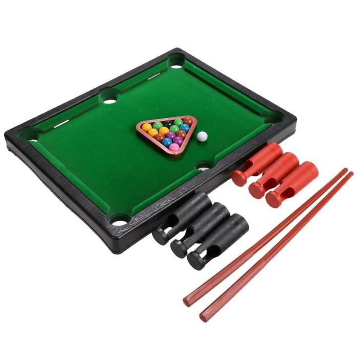 mini billard de jeu avec des rep res tr pied boules mini billard de jeu enfant achat vente. Black Bedroom Furniture Sets. Home Design Ideas