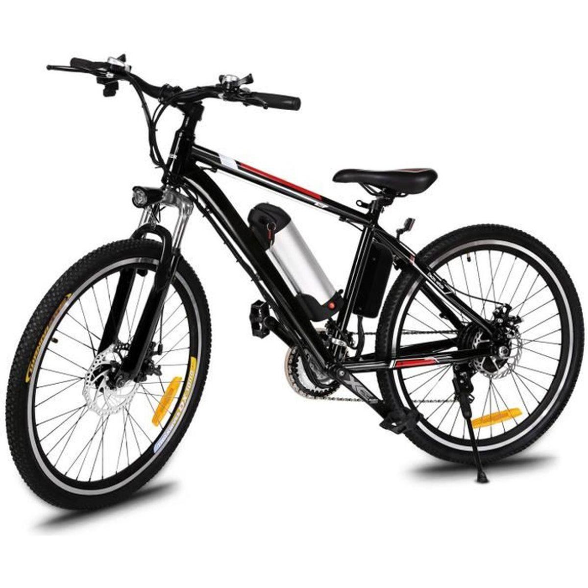26-700 C Tortec Bicyclette Cycle Vélo Vitesse Hybride rack arrière Noir