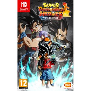 SORTIE JEU NINTENDO SWITCH Super Dragon Ball Heroes: World Mission Jeu Switch
