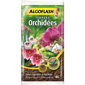 TERREAU - SABLE ALGOFLASH Terreau Orchidées - 6 L