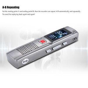 DICTAPHONE - MAGNETO. SK-013 8GB Numérique Audio Enregistreur Vocal Dict