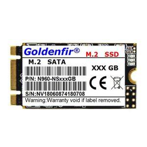 DISQUE DUR SSD Goldenfir Disque Dur SSD 120 Go M.2 SATA 2242 SSD