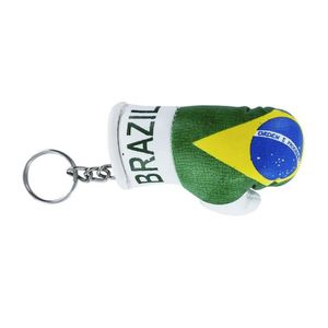 PORTE-CLÉS Porte cles  gant de boxe drapeau bresil