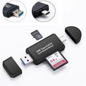 LECTEUR DE CARTE EXT. USB 3.0 Lecteur de Carte, USB Type C Lecteur de Ca