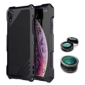 COQUE - BUMPER TE Camera Lens Boîtier métallique étanche dur hybr
