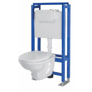 WC - TOILETTES AQUART Pack WC complet suspendu Aquart Lyra