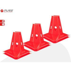 KIT ATHLÉTISME Pure2Improve Plots d'entraînement 6 pièces 150 mm
