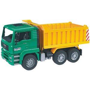 VOITURE - CAMION BRUDER - 2765 - Camion Benne Man 45cms Echelle 1/1