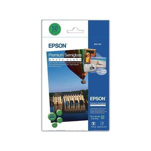 PAPIER IMPRIMANTE EPSON Papier photo C13S041765 - 100 mm x 150 mm -