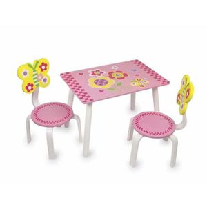 Table et chaise papillon achat vente table et chaise for Chaise pour table en bois