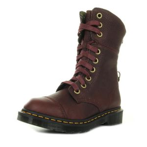 BOTTE Bottes Dr Martens Aimilita Cherry Red
