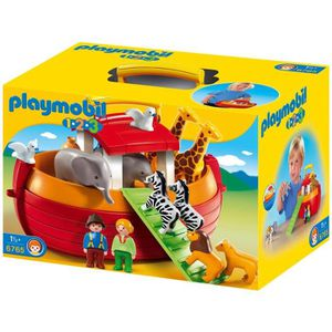 UNIVERS MINIATURE PLAYMOBIL 1.2.3. 6765 Arche de Noé Transportable