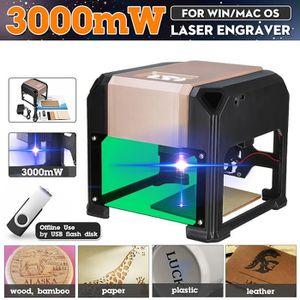 KIT GRAVURE TEMPSA 3000MW Laser Machine de gravure Graveur Eng