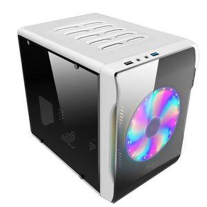 BOITIER PC  TEMPSA Mini Boîtier PC ITX Côté Transparent Micro