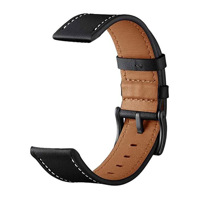 MONTRE OUTDOOR Bracelet de montre de remplacement en cuir pour Samsung Galaxy Watch active 20mm bg1422