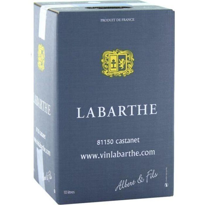Vin Rouge de France - Cubi de 10 L