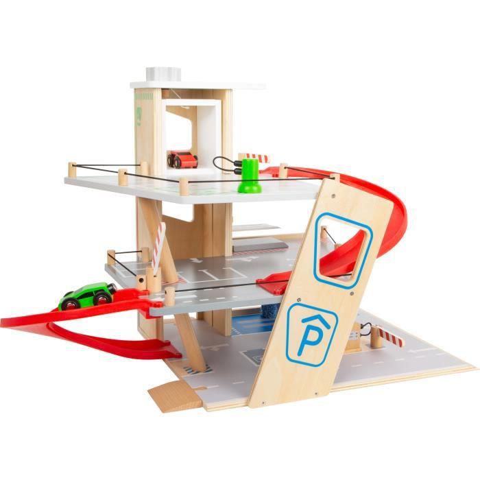 Parking Premium jouet en bois pour enfant à partir de 3 ans leg