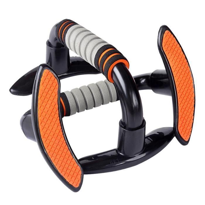 Équipement de Fitness gymnastique à domicile I en forme de barre pousser la force du Support détacha - Modèle: Orange -