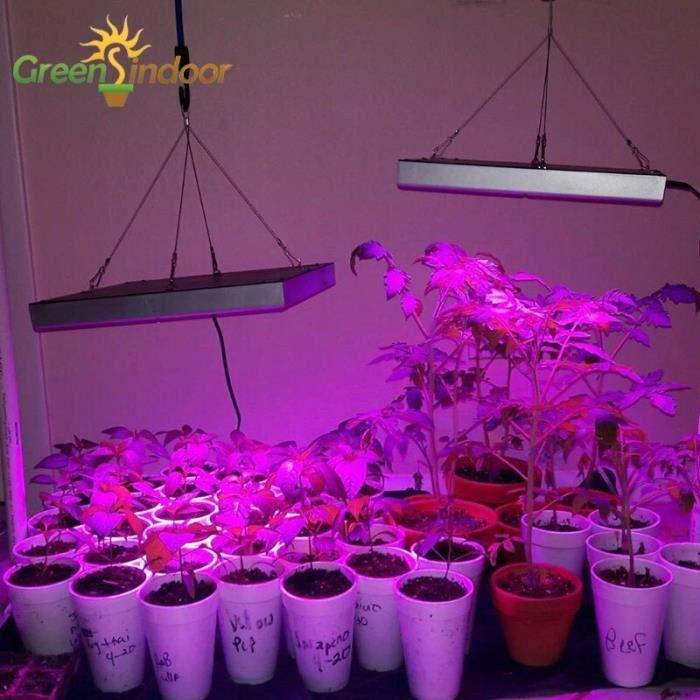 Phytolampe pour plantes à spectre complet IR UV, lampe de croissance pour plantes, floraison intérieure, t 1pc 75Leds UK -WL9053