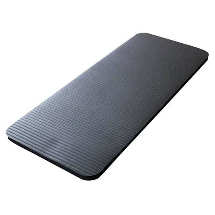 Tapis de yoga Pilates NBR 60x25x1,5cm Noir