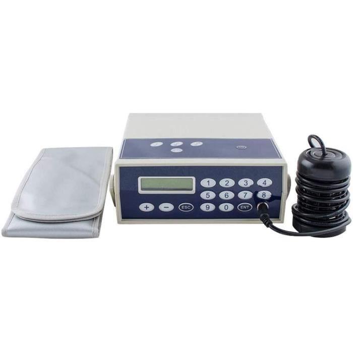 Aides aux soins des pieds MYLW Machine ionique de désintoxication de Bain de Pieds ION Cleanser Deluxe Ionic Spa avec l' 573175