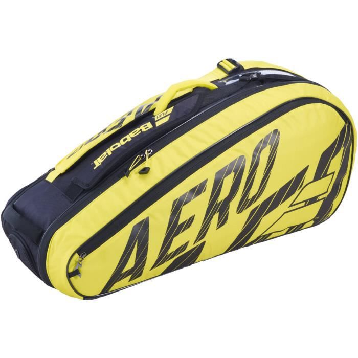 Thermobag Babolat Pure Aero 6R 2020 - Couleur:Jaune Type Thermobag:6 raquettes