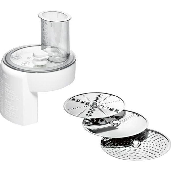 Bosch MUZ4DS4, Food grinder, Blanc, Acier inoxydable, BOSCH MUM 4, 180 mm, 180 mm
