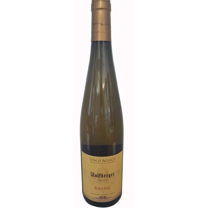 Wolfberger 2018 Riesling - Vin blanc d'Alsace