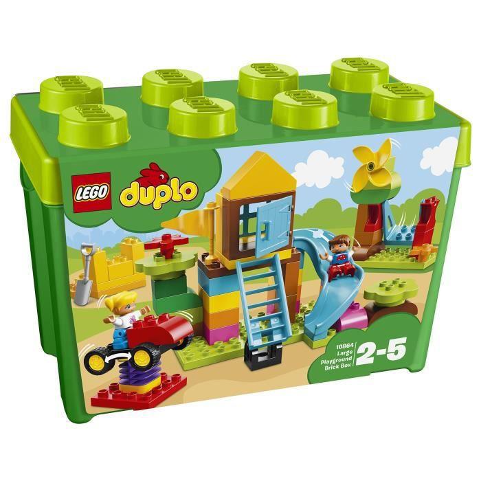 Lego Duplo Mon premier grand terrain de jeux pour les enfants Building Blocks 2 à 5 ans (71 Pcs) 10864 W0AK1