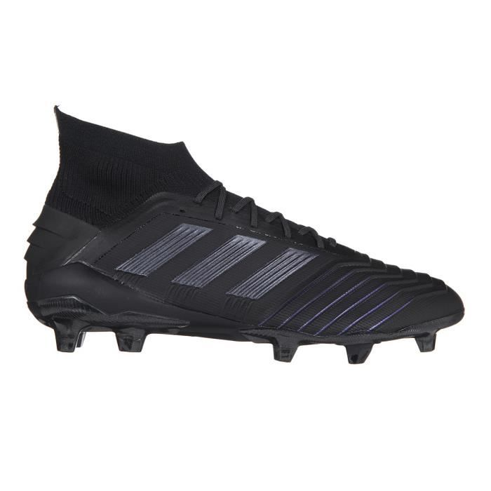 ADIDAS PERFORMANCE Chaussures de Football Predator 19.1 FG - Homme - Noir