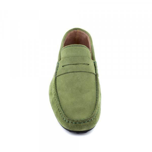 Mocassin J.Bradford Cuir Vert JB-AITOR - Couleur - Vert